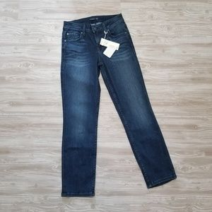 NWT Level 99 Lily Crop Skinny Leg Denim Jeans